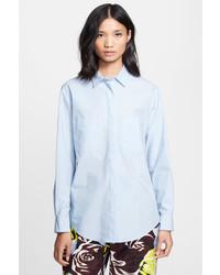 MSGM Button Front Cotton Shirt