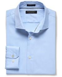 Banana Republic Camden Standard Fit Supima Cotton Texture Shirt