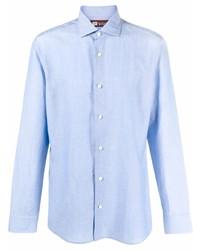 Z Zegna Classic Linen Shirt
