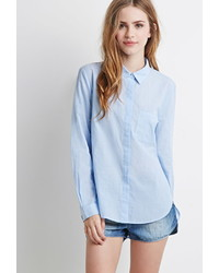 Forever 21 Classic Striped Shirt