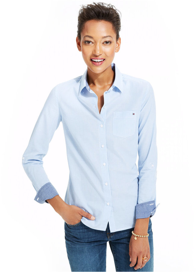 5c19d5942 Tommy Hilfiger Cornell Striped Shirt Only At Macys, $49 | Macy's ...