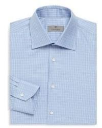 Canali Cotton Long Sleeve Dress Shirt