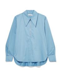 Tibi Cotton Poplin Shirt