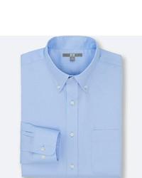 Uniqlo Easy Care Oxford Long Sleeve Shirt