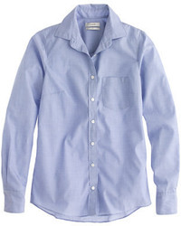 J.Crew Everyday Shirt In End On End Cotton