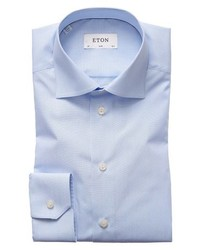 Eton Extra Slim Fit Stripe Dress Shirt