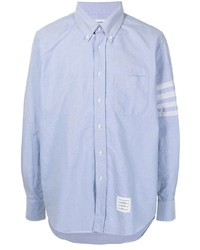 Thom Browne Four Stripe Button Down Shirt