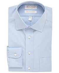 Roundtree & Yorke Gold Label Non Iron Fitted Classic Fit Spread Collar Solid Dress Shirt