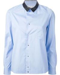 Golden Goose Deluxe Brand Contrasting Collar Shirt