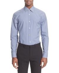 Paul Smith London Trim Fit Micro Gingham Dress Shirt