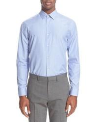 Paul Smith London Trim Fit Texture Weave Dress Shirt