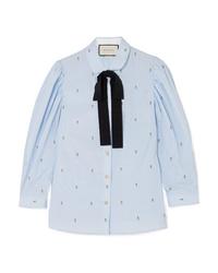 Gucci Med Fil Coup Cotton Shirt