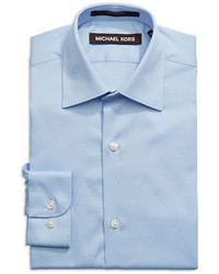 f6e21b40ea97 Michael Kors Blue Dress Shirt - The Best Style Dress In 2018