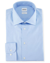 Armani Collezioni Modern Fit Poplin Dress Shirt