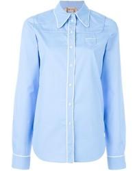 No.21 No21 Piping Shirt