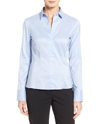 Petite bashina stretch poplin shirt medium 764758