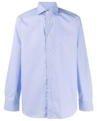 Canali Plain Classic Shirt