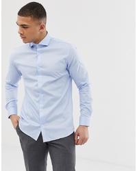 Jack & Jones Premium Smart Shirt In Blue