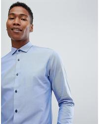 Jack & Jones Premium Smart Shirt In Slim Fit With Contrast Buttons
