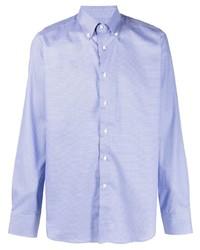 Canali Printed Button Down Shirt