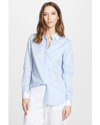 Nordstrom Signature And Caroline Issa Classic Chambray Shirt