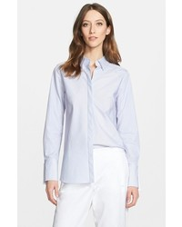 Nordstrom Signature And Caroline Issa Classic Pinstripe Shirt