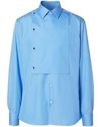 Burberry Slim Fit Bib Detail Shirt