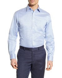 Nordstrom Men's Shop Smartcare Traditional Fit Check Dress Shirt