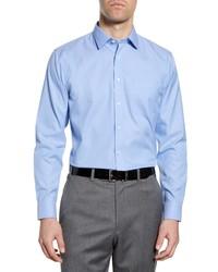 Nordstrom Smartcare Trim Fit Solid Dress Shirt