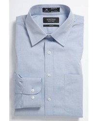 Nordstrom Men's Shop Smartcare Trim Fit Solid Dress Shirt