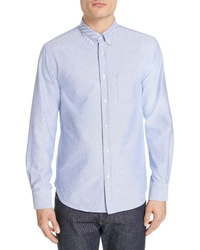 Officine Generale Solid Oxford Shirt