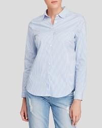 NYDJ Stripe Button Down Shirt