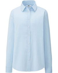 Uniqlo Supima Cotton Stretch Long Sleeve Shirt