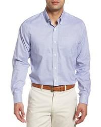 Cutter & Buck Tattersall Tailored Fit Non Iron Sport Shirt