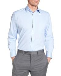 Nordstrom Men's Shop Tech Smart Traditional Fit Stretch Pinpoint Dress Shirt