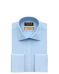 Thomas Pink Edwin Plain Slim Fit Double Cuff Shirt