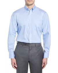 Nordstrom Men's Shop Traditional Fit Non Iron Solid Dress Shirt