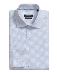 Bugatchi Trim Fit Dot Dress Shirt