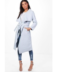 Francesca belted waterfall coat medium 5261248