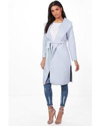 Tamara belted shawl collar coat medium 5261247