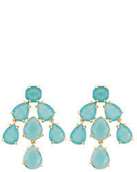 Kate Spade New York Accessories Aqua Kate Chandelier Earrings
