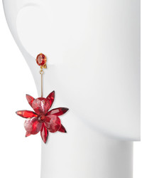 4027c014431ab Kate Spade New York Crystal Flower Drop Earrings, $128 | Neiman ...