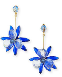 Kate Spade New York Crystal Flower Drop Earrings
