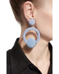 Rebecca De Ravenel Claudia Hoop La Earrings