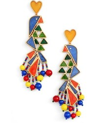 Tory Burch Statet Earrings