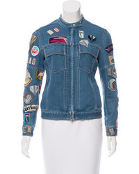 3.1 Phillip Lim Embellished Denim Jacket