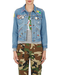 Marc Jacobs Embellished Cotton Shrunken Jacket