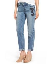 Jessica embroidered boyfriend jeans medium 3996683