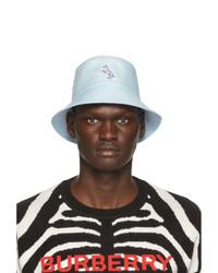 Burberry Blue Graphic Bucket Hat