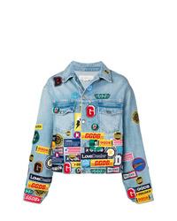 Golden Goose Deluxe Brand Patch Denim Jacket